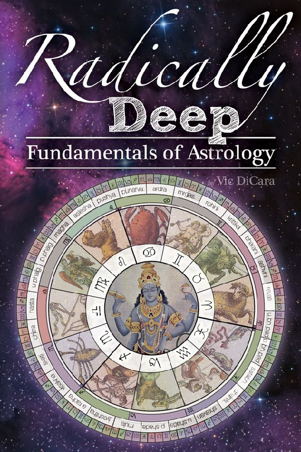 Book Cover for Radically Deep Fundamentals of Astrology