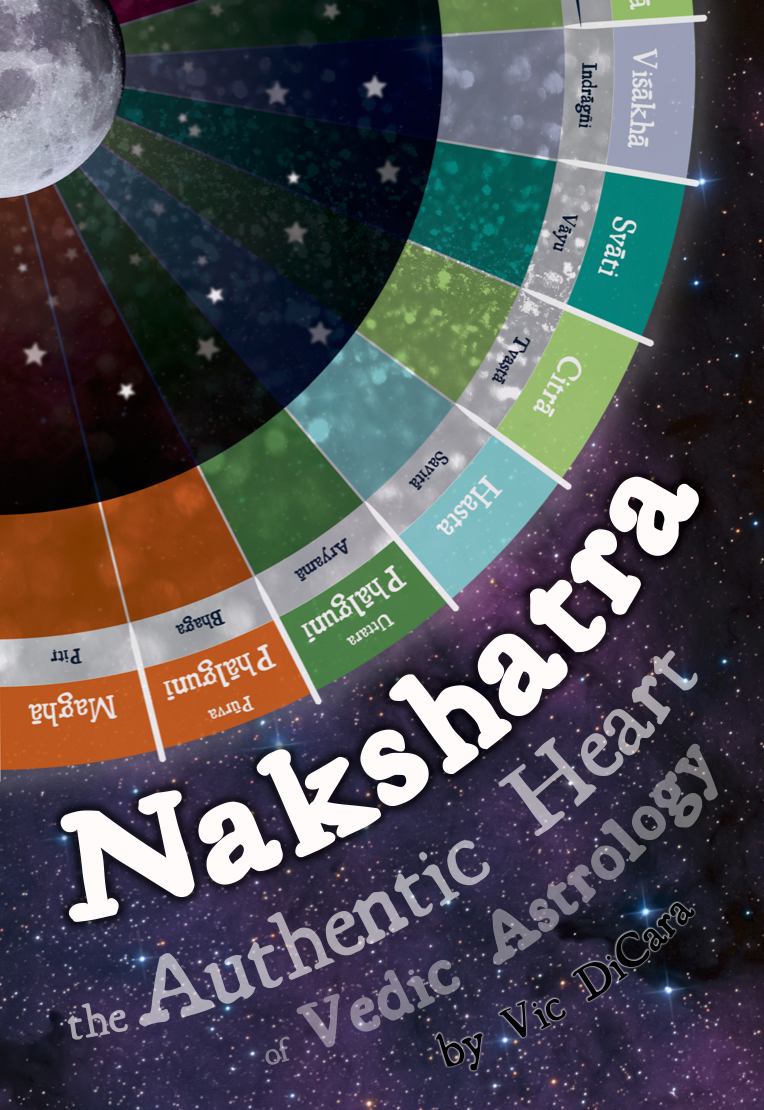 Book Cover for Nakshatra - The Authentic Heart of Vedic Astrology